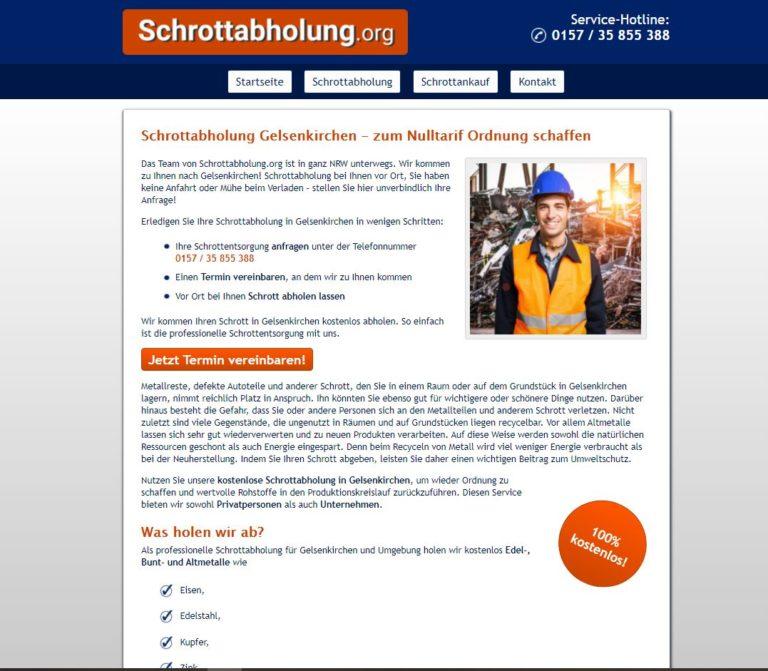 Kreislaufwirtschaft fördern mit lokaler Schrottabholung in Gelsenkirchen