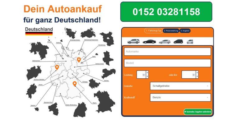 Wenn Sie Ihren Gebrauchtwagen in Bernburg Saale und dem Umland verkaufen möchten, rufen Sie einfach ein Angebot vom Autoankauf Bernburg Saale ab.