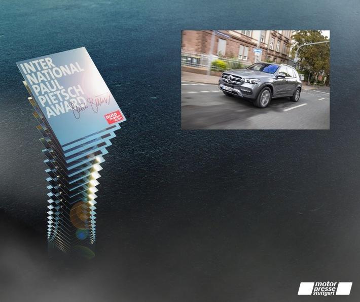 100 Kilometer elektrische Reichweite: Mercedes für den GLE mit International Paul Pietsch Award 2021 ausgezeichnet
