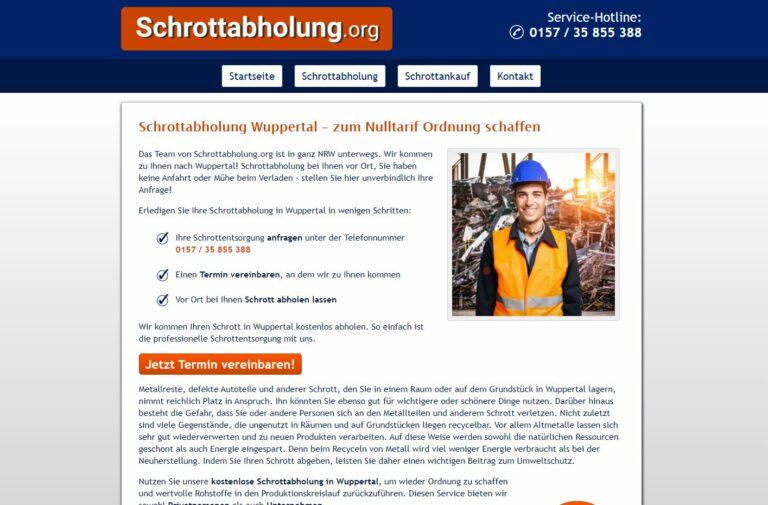 Die Schrottabholung in Wuppertal steht für jahrelange Erfahrung im verantwortungsvollen Umgang mit wertvollen Ressourcen