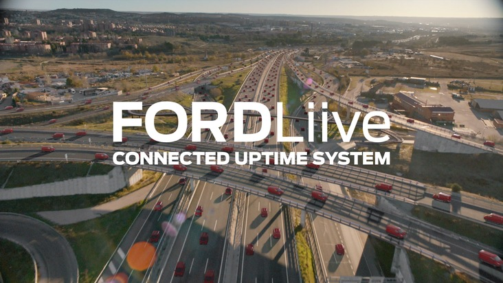 """""""FORDLiive"""": Das neue Produktivitäts-Angebot maximiert die Betriebszeit von Ford-Nutzfahrzeugen"""