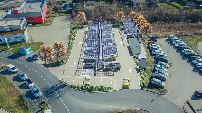 Größter öffentlicher Schnellladepark Europas für alle E-Autos: EnBW baut Flagship-Standort am Kamener Kreuz