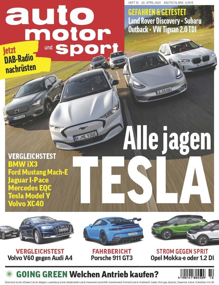 75 Jahre Testkompetenz von Auto Motor und Sport: Jährlich 1,1 Millionen Testkilometer mit rund 350 Autos