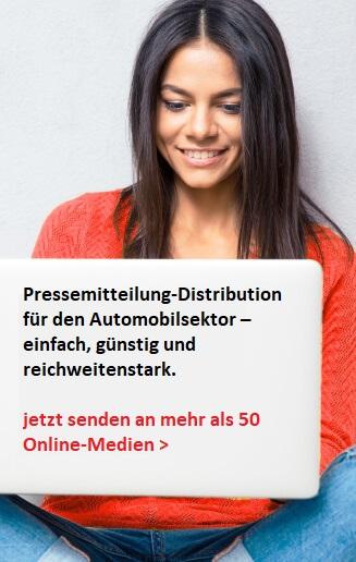 Pressemitteilung an über 50 Auto-News Portale publizieren