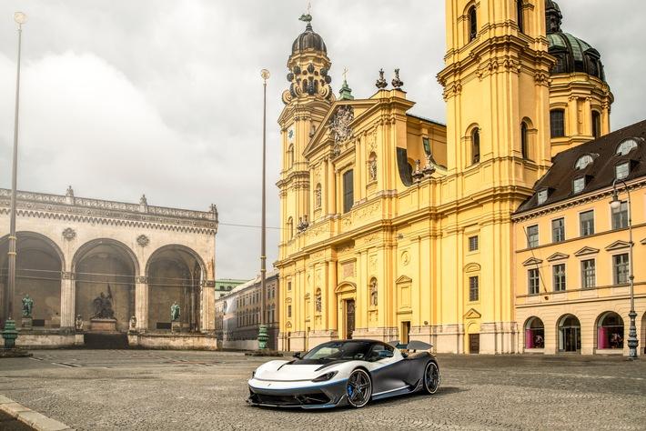 Battista Hyper-GT trifft bei der MOHR GROUP in München ein, während das globale Retail-Netzwerk weiter wächst