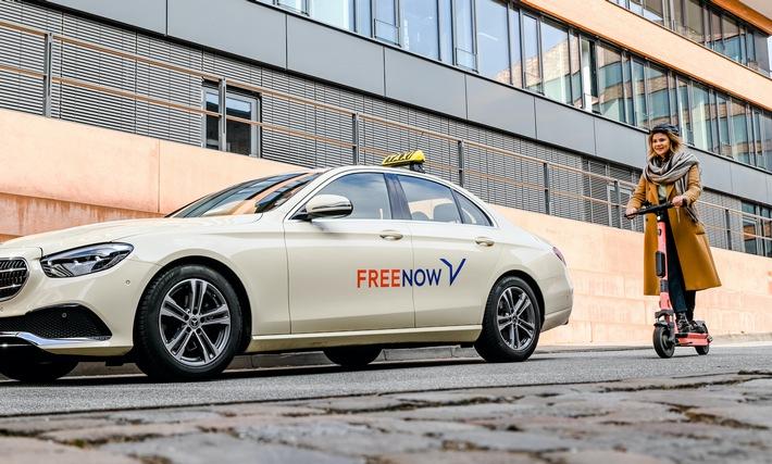 FREE NOW und Voi starten in fünf weiteren Städten eScooter ab sofort auch in Aachen, Lübeck, Nürnberg, Augsburg und Karlsruhe über die FREE NOW App verfügbar