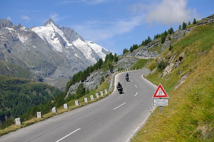 Große Freiheit, große Fahrt, Großglockner – Motorräder zum Mieten beim ADAC