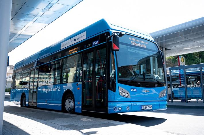 WSW-Wasserstoffbusse erreichen Kostenparität mit Dieselbussen