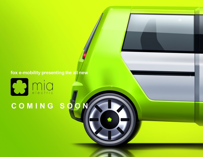 fox e-Mobility AG stellt Design der MIA-Produktfamilie vor Einladung zur Online-Pressekonferenz am 13.7.2021 um 11.00 Uhr
