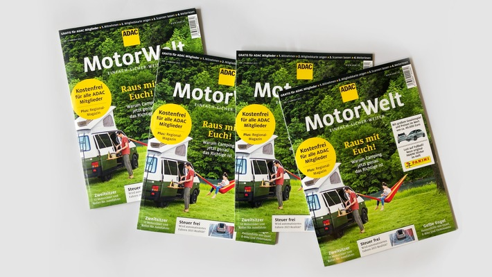 ADAC Motorwelt mit 5,9 Millionen Lesern Erfolgreiche Neukonzeption des Clubmagazins
