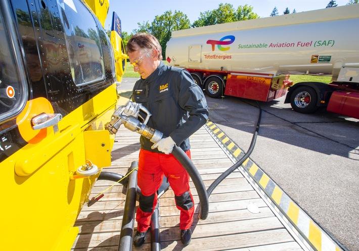 Neuer Meilenstein in der internationalen Luftfahrt: Erster Rettungshubschrauber fliegt mit Bio-Kerosin