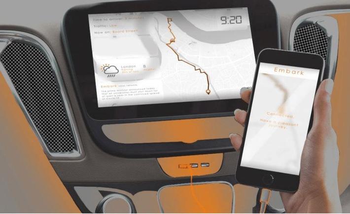 Selbstfahrendes Taxi für Menschen mit eingeschränkter Mobilität gewinnt Ford Design Award