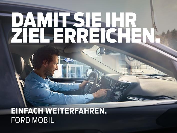 Ford bietet Werkstatt-Ersatzmobilität ab 10 Euro pro Tag