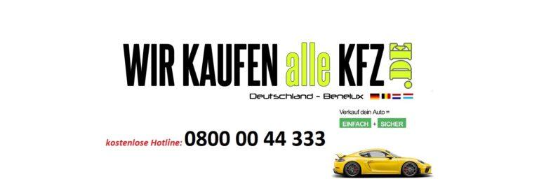 Sportwagenankauf – Wir kaufen Fahrzeuge von Porsche in jedem Zustand!