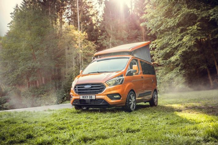 Ford auf dem Caravan Salon 2021 mit attraktivem Querschnitt durch aktuelles Produktprogramm