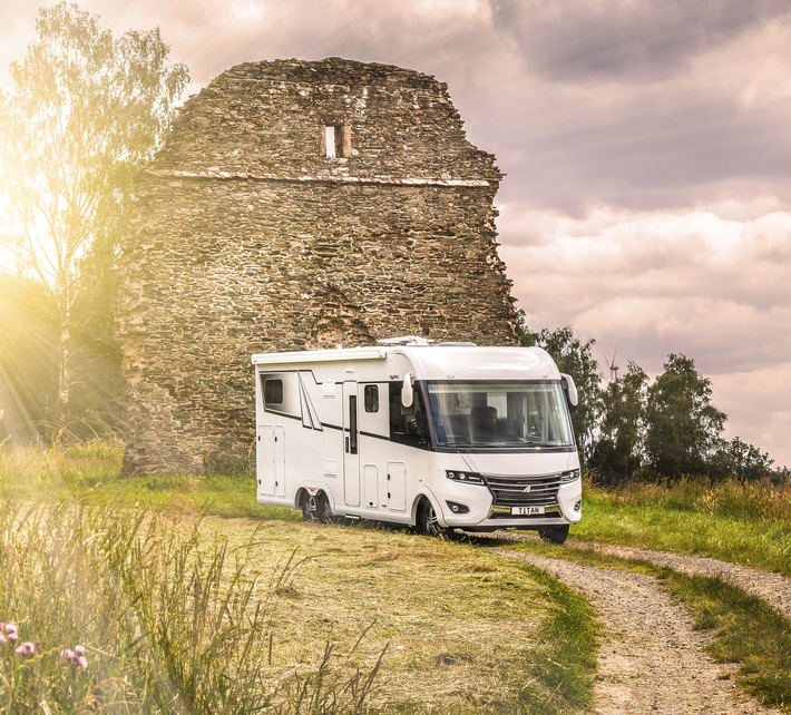FRANKIA Neuheiten auf dem Caravan Salon Düsseldorf 2021