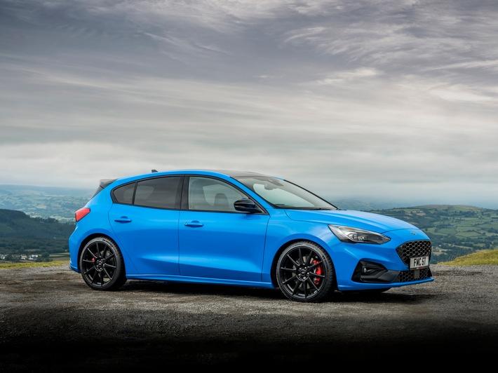 Ford Focus ST Edition begeistert mit Gewinde-Fahrwerk und agilstem Handling in der ST-Geschichte