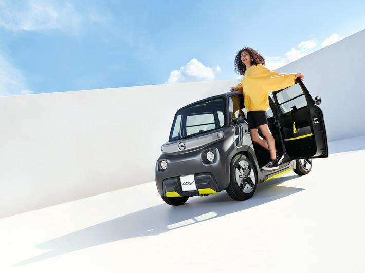Premiere für den Opel Rocks-e: Neuer City-Stromer für eine neue Zeit
