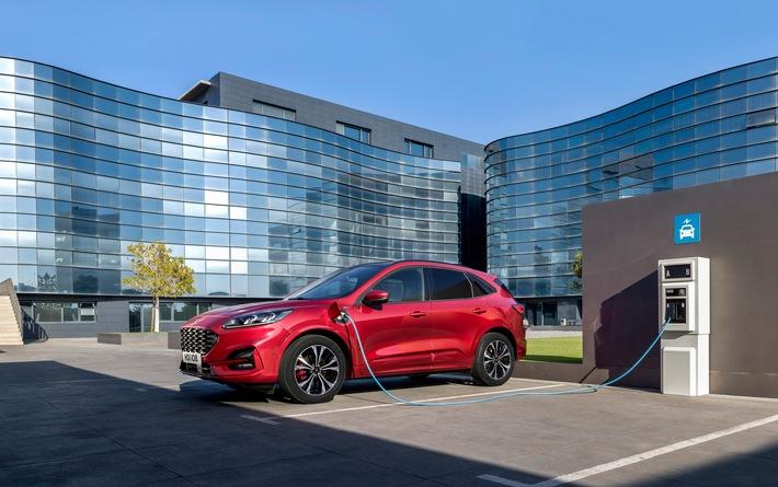 """Ford """"Gewerbewochen+"""": Attraktive Gewerbekunden-Angeboten für sorgenfreie Mobilität"""