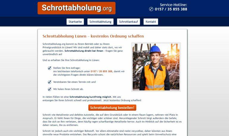 Schrotthändler Lünen: Wir entsorgen Ihren Schrott Privat und Gewerbe Schrottabholung Lünen Altmetall, Haushaltsschrott oder Kfz-Schrott mühelos entsorgen mit top Service