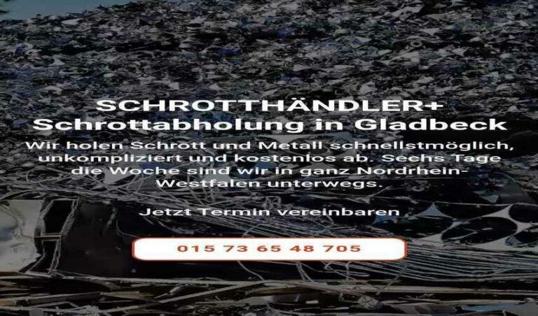 Schrotthändler-Plus holt Ihren Schrott ab durch Schrottabholung Gladbeck kostenlose Entsorgung