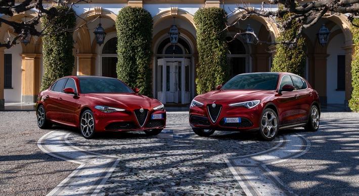 Alfa Romeo Giulia 6C Villa d'Este und Alfa Romeo Stelvio 6C Villa d'Este – eine Hommage an den Inbegriff der Eleganz