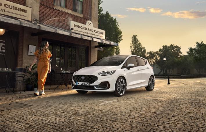 Der neue Ford Fiesta: Der moderne, bestens vernetzte und selbstbewusste Kleinwagen ist bereit für die Zukunft