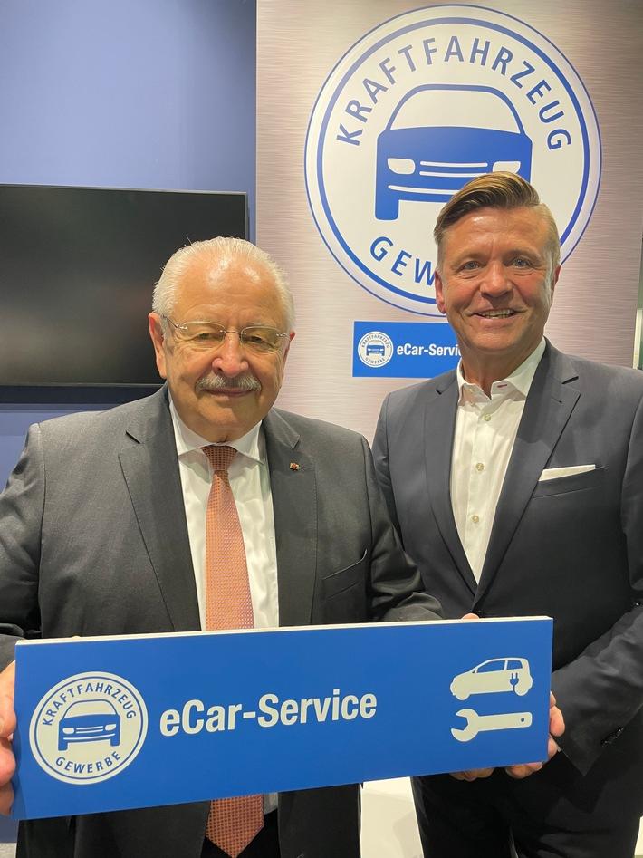 """""""eCar-Service"""": Kfz-Gewerbe ist für E-Mobilität gut aufgestellt"""
