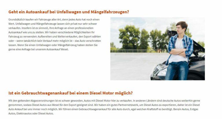 Autoankauf Wesel- Gebrauchtwagen aller Modelle und Jahrgänge Sofort Barzahlung