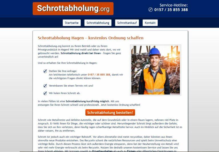 In Hagen: Professionelles Schrotthändler: Demontage von Industrieanlagen