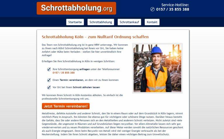 Schrotthändler in Bochum: Kostenlose Schrott und Metallentsorgung