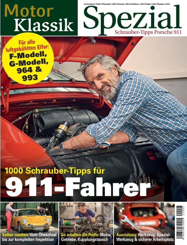 Neues MOTOR KLASSIK SPEZIAL: Der Porsche-911-Versteher